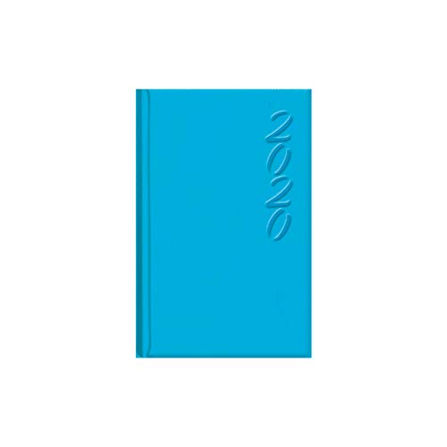 Dohe 12010 - Agenda Brasilia semana vista, color azul turquesa