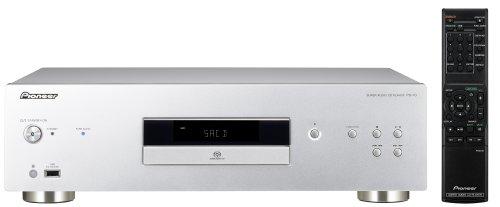 Pioneer lettore cd pd 10-s silver lettore cd/sacd + dvd Dischi supportati: CD, CD-R, CD-RW, SACD, DVD-R, DVD-RW File riproducibili: DSD, MP3, WMA, MPEG-4