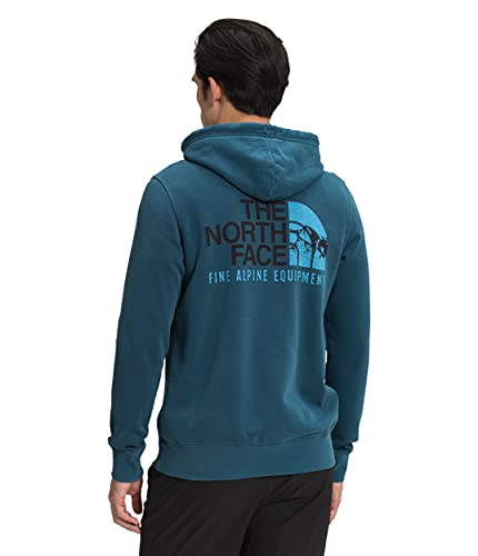 The North Face Men's Image Ideals Full Zip Hoodie, Monterey Blue, XL