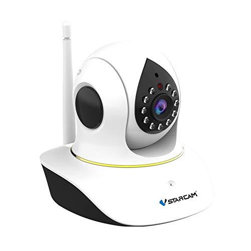 Webcam Mit Mikrofon, Wireless-LAN-Haustier-Kamera Für Hund Und Katze, 1080P Video Mit Bewegungserkennung, 2-Wege-Audio, Nachtsicht, Überwachung Pet Und Baby, 110-240V