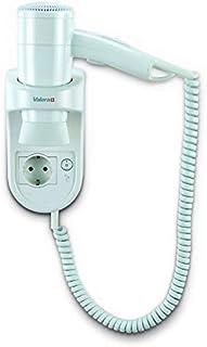 Prima 1600 socket secador de pelo inteligente pared con cable de espiral blanca y el zócalo