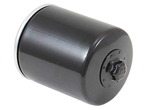 K&N Motorcycle Oil Filter: High Performance Black Oil Filter with 17mm nut designed to be used...