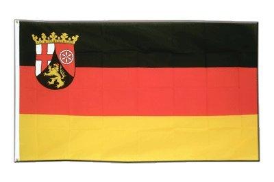 Deutschland Rheinland Pfalz Flagge, Fahne 90 x 150 cm, MaxFlags®