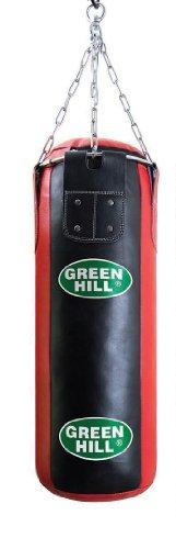 GREEN HILL Greenhill, Sacco da Boxe Imbottito, in Pelle