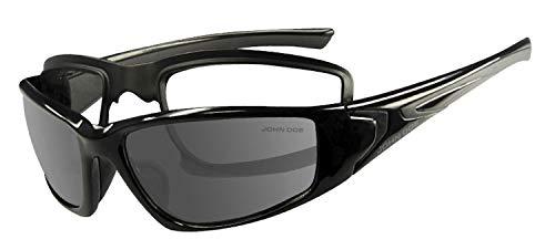 John Doe Airborne - motorzonnebril voor bikers - op de fiets of in de vrije tijd comfortabel te dragen.