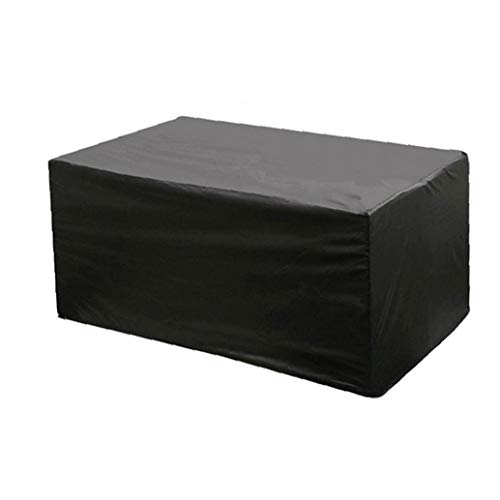 Muebles de jardín Cubierta, Mesa Rectangular Cubierta Transpirable a Prueba de Viento Cubiertas de Muebles a Prueba de Agua, al Aire Libre Patio Muebles Cubiertas a Prueba de Viento y Anti UV Jardín