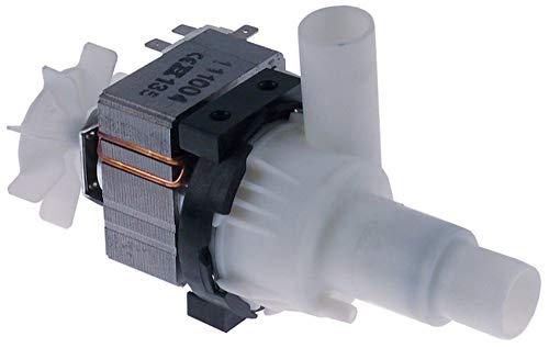 HANNING BE22B3-174 Ablaufpumpe für Spülmaschine Meiko FV40.2, FV40.2M, DV120.2 70W 230V Eingang ø 24mm Ausgang ø 24mm 50Hz
