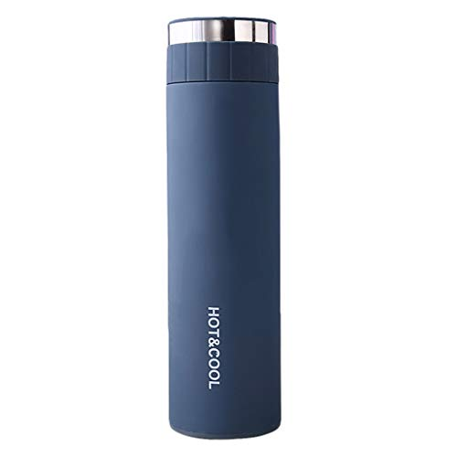 milkcha Stainless Steel Water Bottle Double Wall Vacuum Insulated Sports Thermos Cell Phone Accessories Case