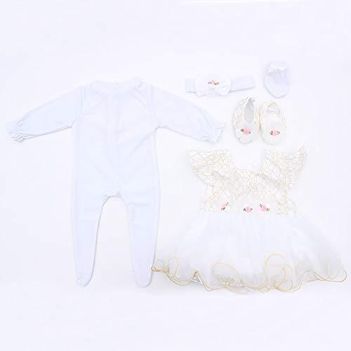 MineeQu 9 Stili diversi per Reborn bambole appena nate di alta qualità 55CM Vestire la bambolina rinata Tutti i vestiti di cotone