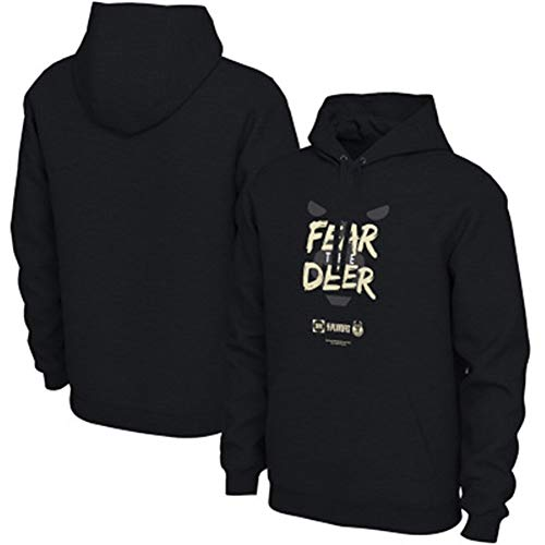 Zxwzzz NBA Warriors/Celtics/Raptors/Bucks Hooded Sweater Ropa Deportiva De Manga Larga For Hombre (Color : Black1, Size : Large)