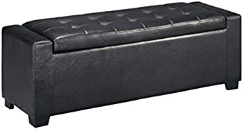 Signature Design by Ashley B010-209 Upholstered Bench Black