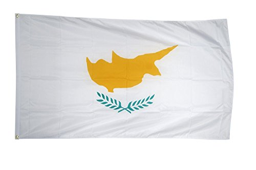 Flaggenfritze Fahne/Flagge Zypern + gratis Sticker