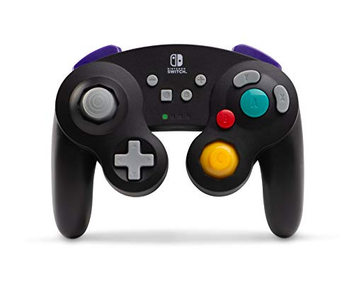 Mando Inalámbrico GameCube, Color Negro (Nintendo Switch)