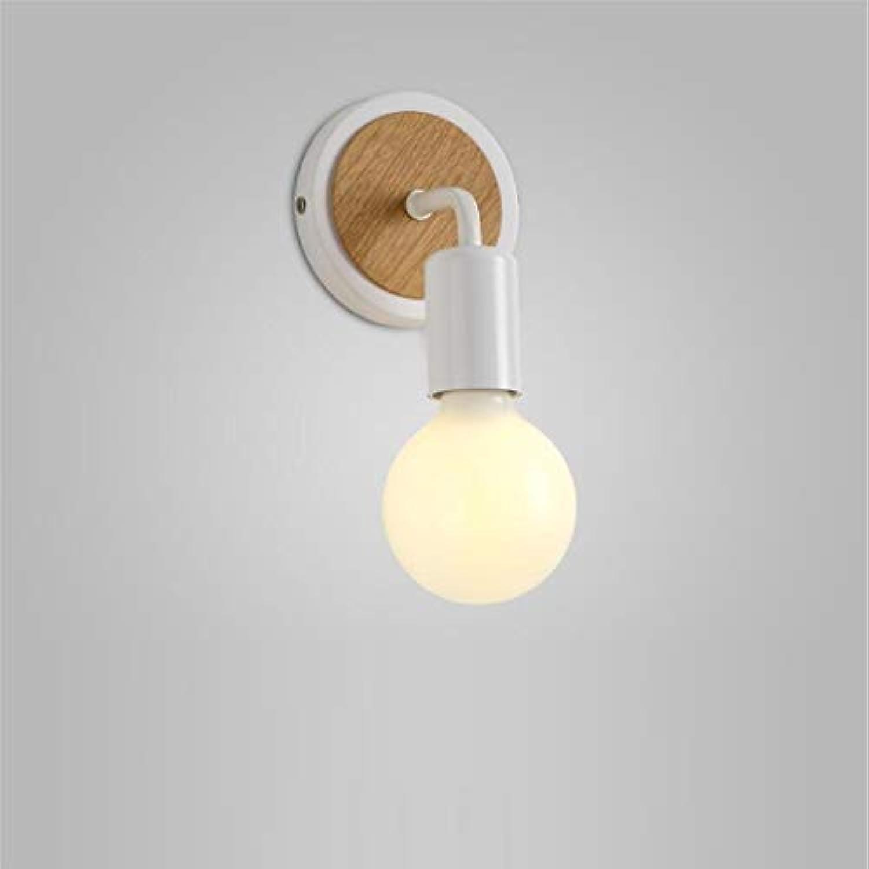 Deckenleuchte Nordische Massivholzwandleuchte Einfache Gangs-Treppenlichthintergrundwanddekoration Hlzerne Nachttischlampe Schlafzimmerwandlampe
