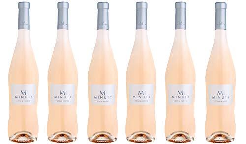 6x 0,75l - 2019er - Château Minuty - Cuvée M - Rosé - Côtes de Provence A.P. - Frankreich - Rosé-Wein trocken