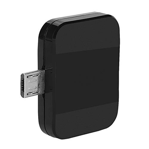 ASHATA Freeview HD Digital TV Receptor Stick de TV Digital con 3 Tipos de Antenas y Soporte de Interfaz Micro USB para Android Teléfono/Tableta/Computadora