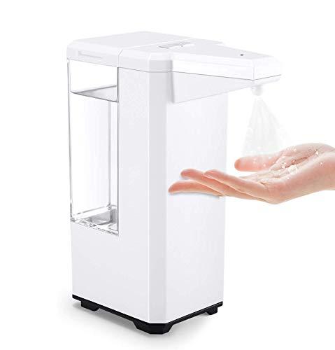 IVSO Desinfektionsspender 500ml, Automatisch Desinfektionsspender, Automatisk Sprühspender, Automatischer Alkohol Zerstäuber Desinfektionsmittelspender mit Infrarotsensor für Non-Touch Händewaschen