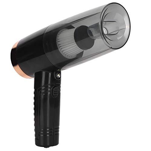 Herramienta de limpieza de coche, aspiradora de coche, luz LED negra incorporada de 120 W y 12 V para pelo en polvo