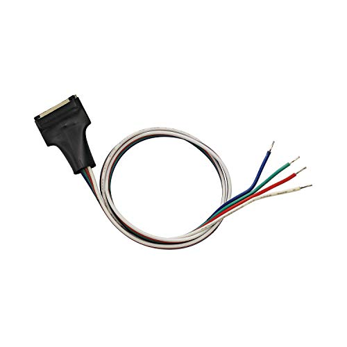 Slv - Cable alimentación flexled 50cm rgb 24v 15mm