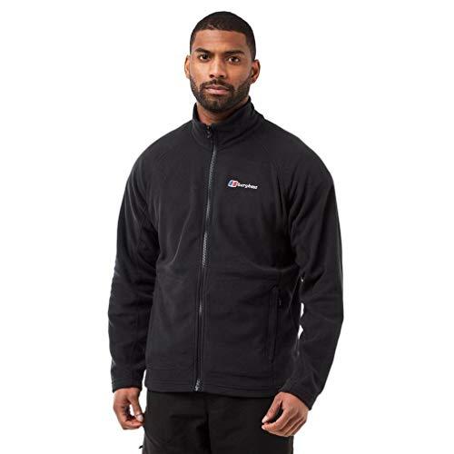 Berghaus Men's Insulated Lightweight Hartsop Full-Zip Fleece, Black, XL