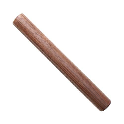 Muso Wood Kleines Nudelholz zum Backen, Holz-Nudelholz für Fondant, Kuchenkruste, Kekse, Gebäck, Teig, leicht zu reinigen (Walnuss-28 cm)