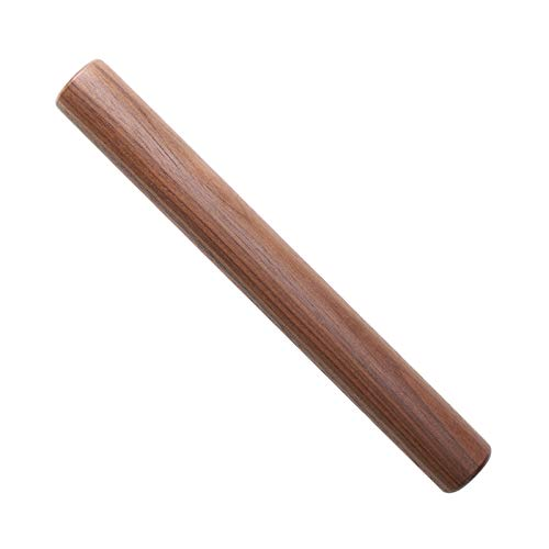 Muso Wood Small Rolling Pin for Baking,Wooden Rolling Pin 11 inches for Fondant, Pie Crust, Cookie, Pastry, Dough-Easy to Clean(Walnut)