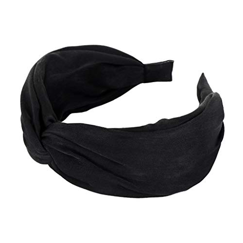 Mädchen Bowknot Haarband Stirnband Elastic Soft Dot Wash Band Make-up KP