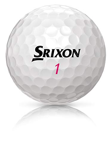 Srixon Soft Feel Lady 5 Super Sleeve (24 Golf Balls), White