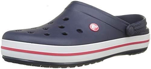 Croc\'s Unisex-Erwachsene Crocs Crockband 11016-410 Clogs, Blau (Marine 410), 43/44 EU