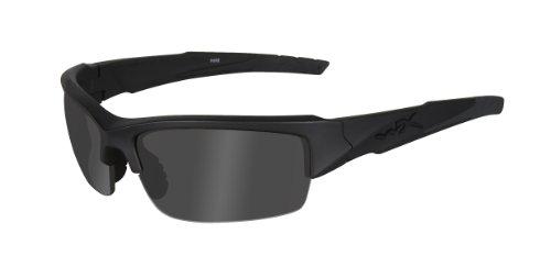 Wiley X Schutzbrille WX Valor mit Polarisationsfilter, Matt Schwarz, S/L, CHVAL08