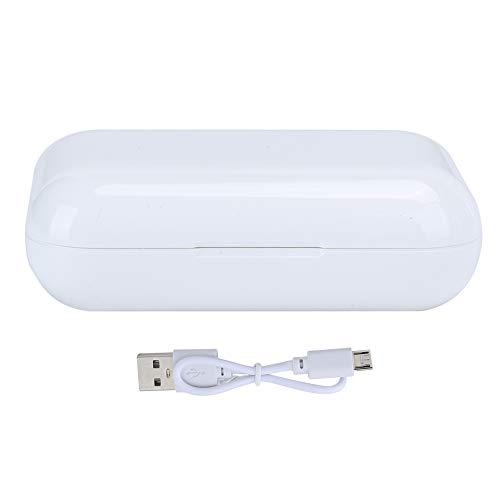 Auriculares Bluetooth inteligentes, Auriculares inalámbricos táctiles True Caja de carga Bluetooth 5.0 Reducción de ruido HIFI En la oreja, Sin ruido / Sin demoras / Transmisión estable / Calidad de s