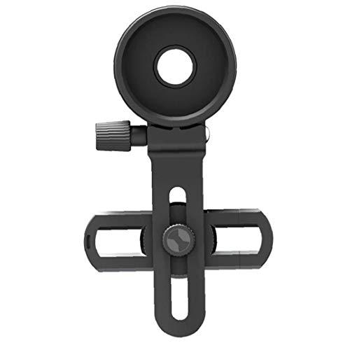 GGOOD Teléfono Celular Clip Adaptador de Montaje Universal telescopio Binocular microscopio monocular con Anillo de Ajuste para Smartphone