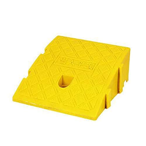 Rampas para Coches Rampasrampa Antideslizante Portátiles Rampa De Umbral De Silla De Ruedas De Moto De Coche (Color : Yellow, Size : C:25x27x13CM)