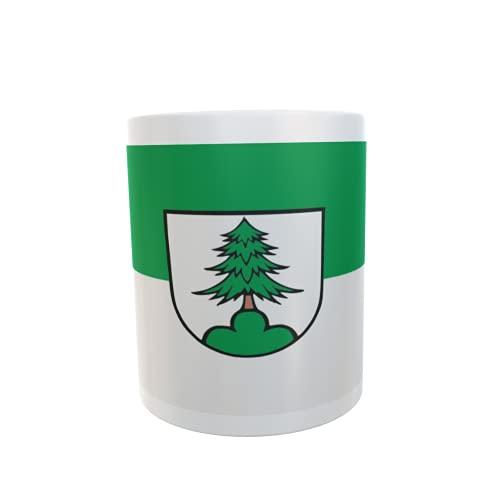 U24 Tasse Kaffeebecher Mug Cup Flagge Adelmannsfelden