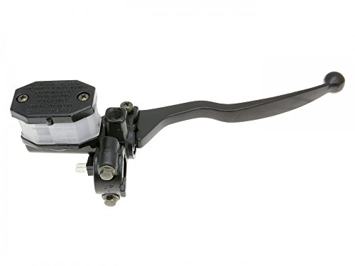 Universale Bremspumpe/Bremszylinder/Hauptbremszylinder rechts mit Bremshebel für Roller, Moped, Mokick, Motorrad, Quad & ATV