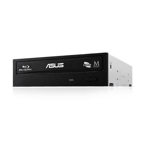 Asus BW-16D1H Masterizzatore Interno Blue Ray, velocità di scrittura 16X, Supporto M-Disc (Versione senza Scatola)