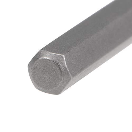 uxcell Screwdriver Bits 3pcs 5/32 Inch Hex Shank Star-Shape P5/1.2mm Screwdriver Bit Set 28mm Length P2 Screw Driver Kit Tools