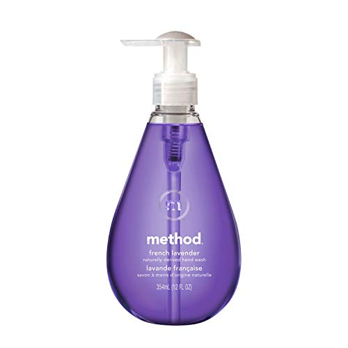 メソッド(Method)液体 ハンドソープ ジェルフレンチラベンダーの香り本体354ml×1本