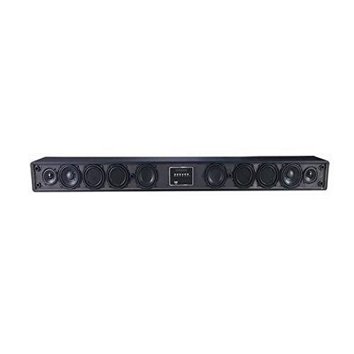 MDHDGAO TV Soundbar, Wired & Wireless Bluetooth 4.0 Sound Bar, Built-in 10 Suono unità Sound Bar (Incluso USB, Telecomando, Basso Regolabile e montabili a Parete)