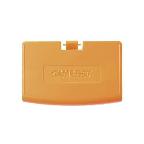 SHOTAY Tapa de batería de Repuesto Gba, Tapa de batería, Tapa de Puerta Trasera, reemplazo para Consola Gameboy Advance GBA Naranja