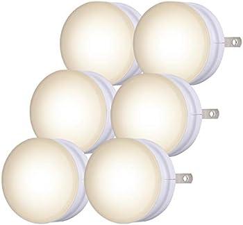 6-Pack Lights by Night Mini Dusk-to-Dawn LED Night Lights