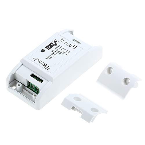Gamogo RF WiFi Switch RF 433MHz Compatible con Alexa para Google Home Interruptor inalámbrico con función de sincronización Controlador Remoto para Android/iOS Control de APLICACIÓN