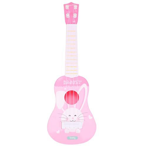 Healifty Mini ukelele guitarra juguete 4 cuerdas instrumentos musicales para niños pequeños