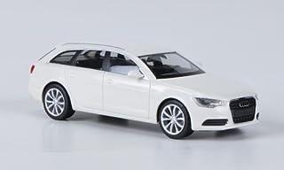 Audi A6 Avant, weiss, Modellauto, Fertigmodell, Herpa 1:87