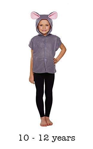 Disfraz de ratón Infantil Talla Grande Edad 10-12 años