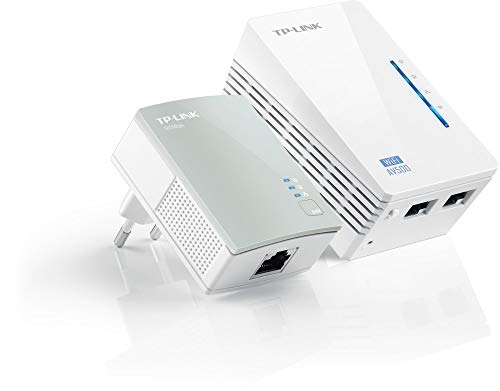 TP-LINK TL-WPA4220KIT Collegamento ethernet LAN Wi-Fi Bianco 2 pezzo(i)