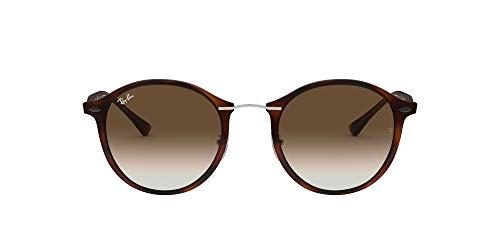 Ray-Ban Unisex RB4242 Sonnenbrille, Braun (Gestell: Havana/Braun, Gläser: Braun Verlauf 620113), Medium (Herstellergröße: 49)