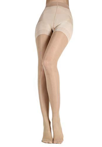 WOOTI Miederstrumpfhose mit Bequemen Push-up-Höschen CONTADINA 20 den, Cosmetic, Größe L, Strumpf Elegant, Konfortabel, Beständig, Verschleiert