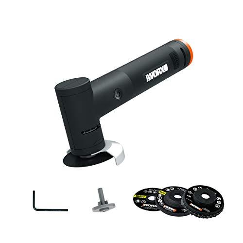 WORX 20V Angle Grinder, Battery, Charger Sold Separately WX741.9 Makerx Winkelschleifer, 20 V, Bare Unit (Hub, Akku, Ladegerät separat erhältlich)