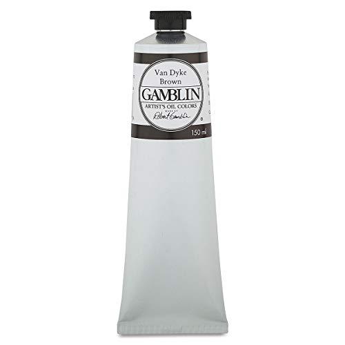 Gamblin Artist Oil Color - Van Dyke Brown - 150 ml Tube